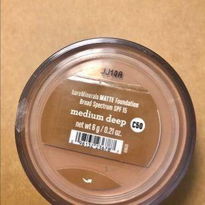 Bare Minerals Matte loose powder foundation